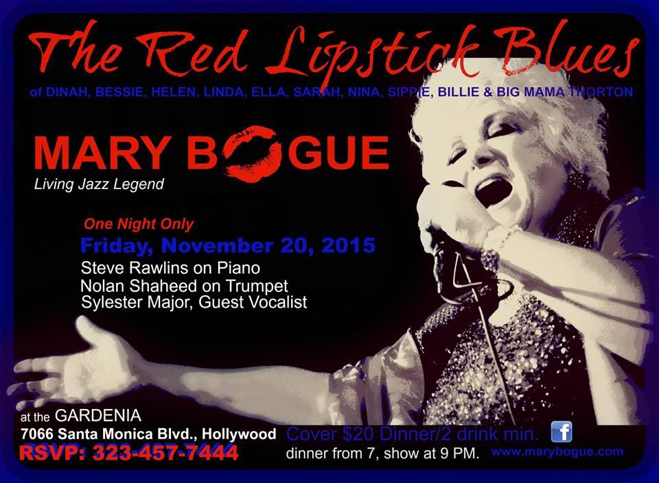 Mary Bogue 11-20-15